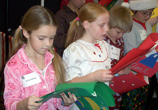Christmas Party Caroling